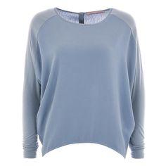 Sky blue freshness as a shirt