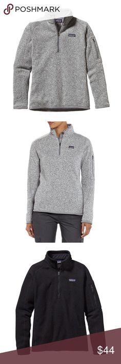 """Patagonia Women's Better Sweater 1/4-Zip Fleece NOT FOR SALE!! Do not buy this listing.  Download the Dote Shopping app and get this fleece sweater for $44 plus free shipping using the promo code """"PDIN."""" Patagonia Sweaters"""