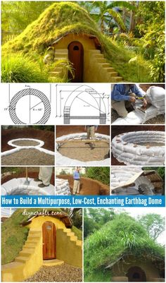 How to Build a Multipurpose, Low-Cost, Enchanting Earthbag Dome... Haha!! I Love this!!