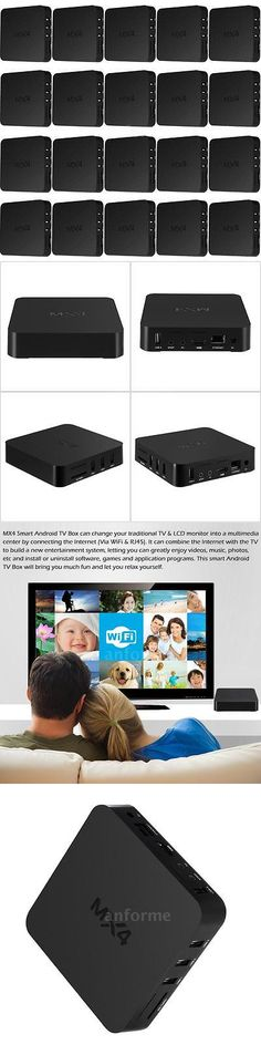 Home Audio: 20X Mx4 Tv Box Rk3229 Android 6.0 Quad Core Wifi Hd Smart Media Player Streaming -> BUY IT NOW ONLY: $502 on eBay!