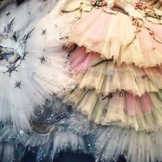 """Happy #TutuTuesday  #Repost @bostonballet ・・・ A pile of #BBNutcracker tutus makes for a perfect #tututuesday. Can you guess whose tutu's they are?…"""