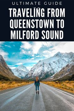 Plan the ultimate trip from Queenstown to Milford Sound and see some of the most beautiful places! You will not regret this trip! Road trip New Zealand / Most beautiful places in New Zealand / New Zealand travel inspiration Milford Sound, Travel, Viajes, Traveling, Trips, Tourism