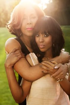 Both ladies are amazing --> Diahann Carroll and Kerry Washington