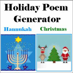 Poem maker for the holidays.  Answer questions and generate a relevant poem.
