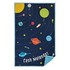 @Veronica Ballard this one for the other kid!! CUSTOM SOLAR SYSTEM QUILT