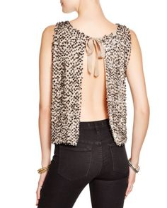 f15fa92aa8fe Free People Embellished Open Back Top