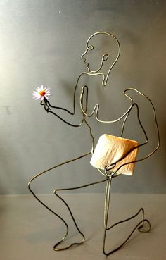 Image detail for -Wire Figure « Yoshizen's Blog #wirejewelry
