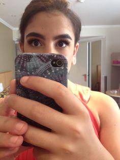 Them eyelashes on point