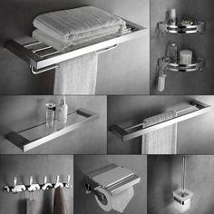 Cheap Conjunto de accesorios de baño de acero inoxidable 304 289d9644732d