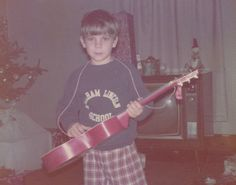 is that jeff tweedy's first guitar?