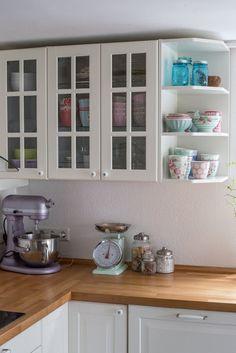 Frühjahrsputz, Küche. Kücheneinrichtung. Landhausstil. Nordischer Stil. Greengate. Küche