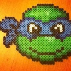 TMNT perler beads by Dawn by paige