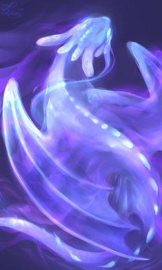 + light fury + by biolumi
