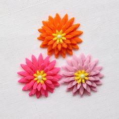 flores de fondant, mini color brillante 12 Margarita, clavel Cactus pequeño Hawaiian tropical comestible flores cupcake toppers de pastel decoración desierto