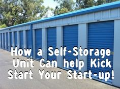 How a Self-Storage Unit Can help Kick Start Your Start-up. Read the full article on the Safehouse Blog. #selfstorage #startup #business #gym #container