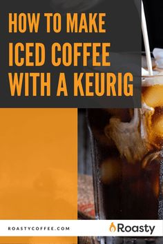 If you're trying to avoid paying money for an iced coffee when you already have a Keurig at home, you've come to the right place! It's 100% possible and surprisingly easy to do! Use our how-to guide to find out tips and tricks we've put together so you can get the most out of your home-brewed iced coffee. #coffeelovers #icedcoffee #roastycoffee #keurigcoffee Thai Iced Coffee, Vietnamese Iced Coffee, Making Cold Brew Coffee, How To Make Ice Coffee, Coffee Course, Spanish Coffee, Nitro Coffee, Coffee Uses, Coffee Cream