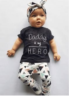 Funny Rocking Horse Music Metal Dad Boys Girls Cute Gift Rock On Baby Vest