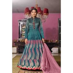 Buy Gowns - Discover the wide range of designer gowns online Party Wear Gowns Online, Party Wear Long Gowns, Salwar Kameez, Kurti, Indian Ladies Dress, Silk Anarkali Suits, Gown Suit, Prom Girl Dresses, Ethnic Looks