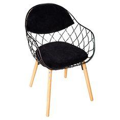 Found it at Wayfair - Freddie Chair in Black (set of 2)