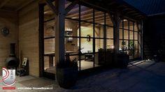 Stalen deur in buitenkamer in Ederveen | G. de Rooy Stalen binnendeuren