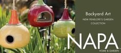 We Love NAPA Home & Garden Backyard Art!