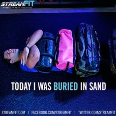It's important that you rest after one of our Ultimate Sandbag Workouts ;) Free 30-Day Trial
