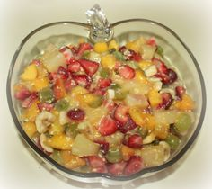 Fresh Fruit Salad Recipe www.simplefascinations.blogspot.com