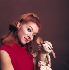The lovely Shari with Lamb Chop. Shari Lewis, Lamb Chops, Rita Hayworth, Golden Age Of Hollywood, Culture, Actresses, Stars, Redheads, Women