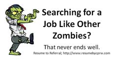 Zombie Job Search