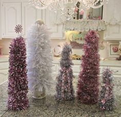 Penny's Vintage Home: Let's Make some Christmas Trees!