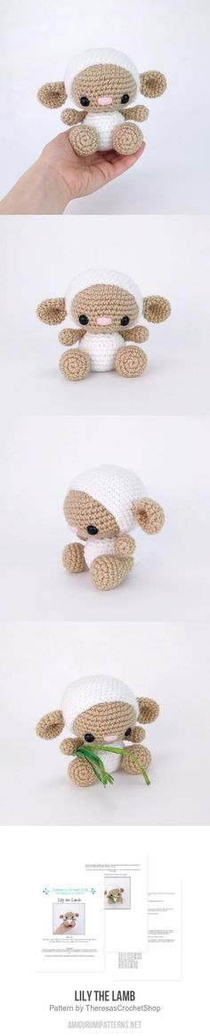 Lily The Lamb Amigurumi Pattern
