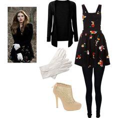 looks lidia de teen wolf | Teen Wolf Lydia Fashion by ashley-morton on Polyvore