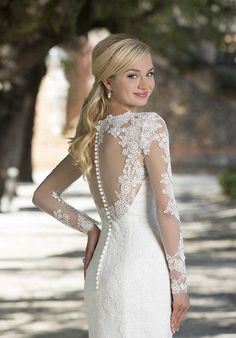 Sincerity 3898 close back - The Blushing Bride Boutique / Off the Rack