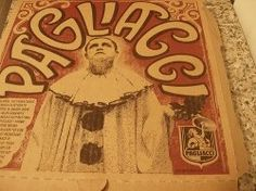 old pagliacci poster