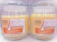 Cupcake candles- by Blush♡ I need to go shopping for more candles soon. My holiday candles are halfway melted. ❄️