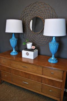 need to find some lamps to paint and a credenza find at the goodwill couldn  fb4ebfa7a76