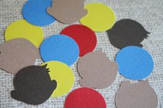 Curious George Confetti Inspired  Curious George Decoration