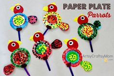 Looking for Paper Plate Parrot Craft ? Then you are at the right place. See - Artsy Craftsy Mom - Top Indian hobby, art and craft blog for kids