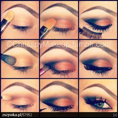 Interesting eye make up