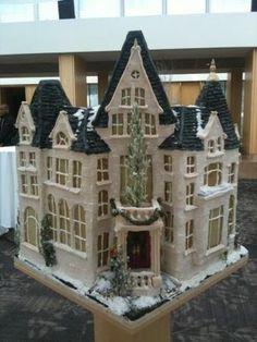Gingerbread Mansion - National Gingerbread Showcase #gingerb2012  Inn at Laurel Point, Victoria BC