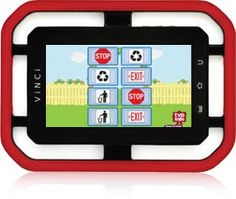 VINCI Kids Library has over 500 learning apps to help kids develop skills.