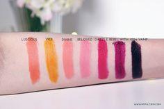 Make up revolution, lipstick, haul, my pale skin, beauty, matte lipstick,  swatch, review