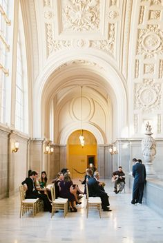 gorgeous San Francisco city hall wedding