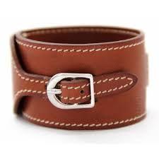 Image result for hermes leather bracelet