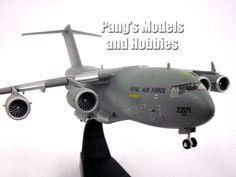 Boeing C-17 Globemaster III Royal Air Force 1/200 Scale Diecast Metal Model by Amercom