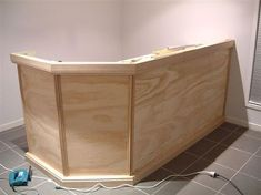 How To Build A Home Bar Guest Service Counter In Foyer