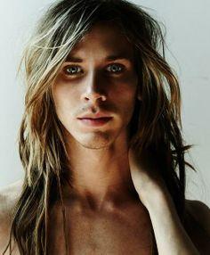 Pretty Boys on Pinterest | Long Hair Man, Long Hair and Dreads