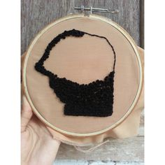 Embroidery siluet