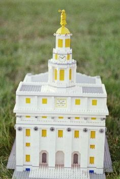 I'm not gonna lie, this is impressive.  LEGO Nauvoo LDS Temple