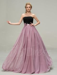 Find More Bridesmaid Dresses Information about Sexy Chiffon A Line Formal Dress Wedding party Gown Floor Length Long Bridesmaid dresses 2016 Black And Pink With Flower Waist,High Quality dress like a model,China dress necklines Suppliers, Cheap gown evening from Ayaya Dress Shop on Aliexpress.com